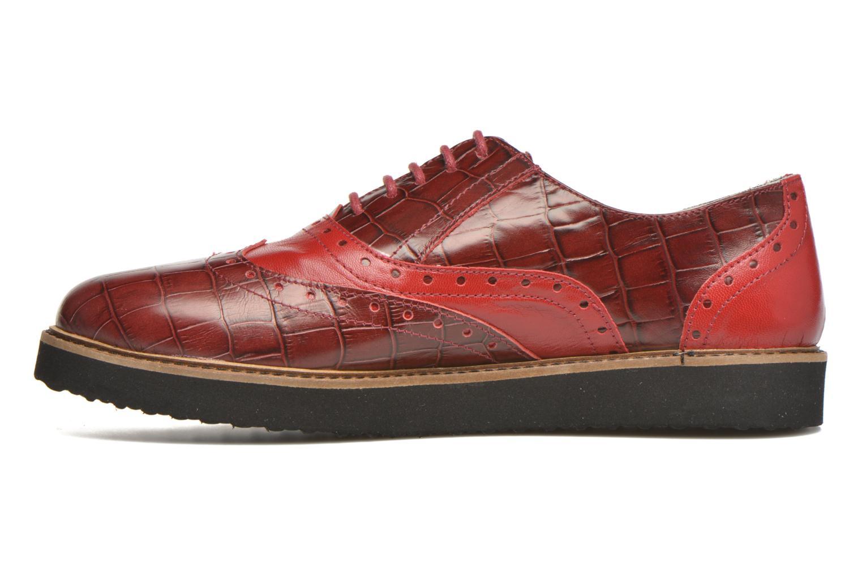 Schnürschuhe Ippon Vintage Andy croco rot ansicht von vorne