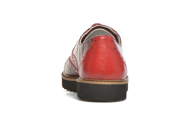 Schnürschuhe Ippon Vintage Andy croco rot ansicht von rechts