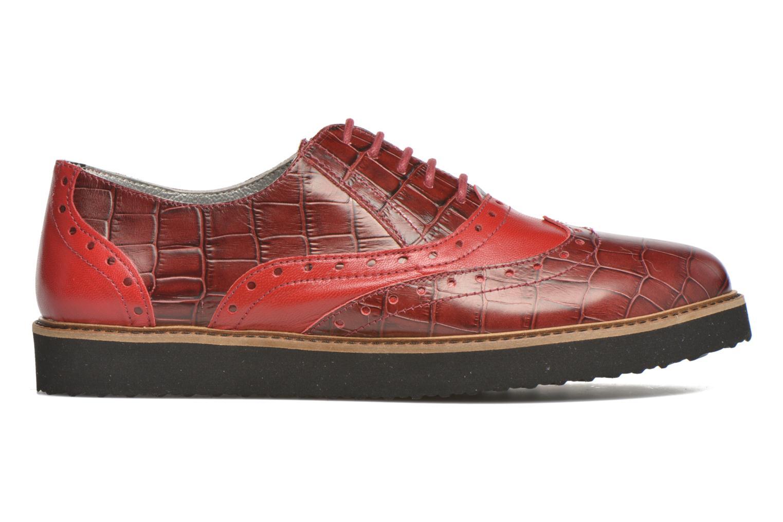 Schnürschuhe Ippon Vintage Andy croco rot ansicht von hinten