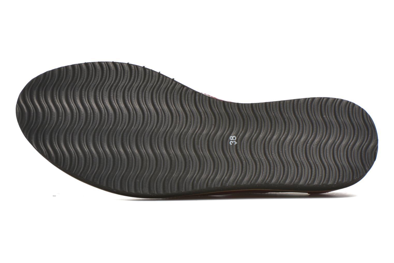 Chaussures à lacets Ippon Vintage Andy croco Rouge vue haut
