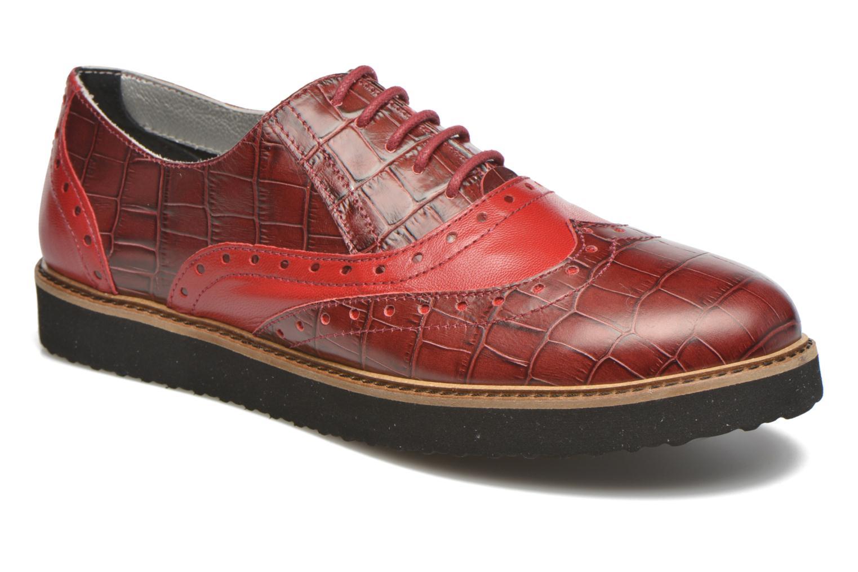 Schnürschuhe Ippon Vintage Andy croco rot detaillierte ansicht/modell