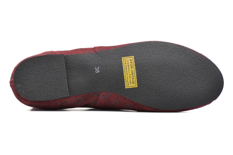 Stiefeletten & Boots Ippon Vintage Peal Kiss weinrot ansicht von oben