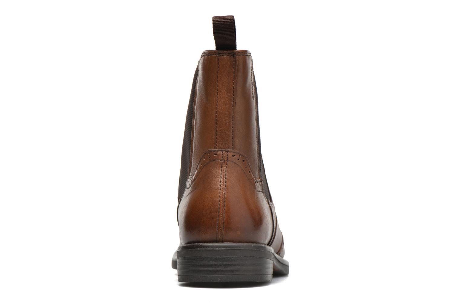 Ankle boots Vagabond Shoemakers AMINA 4203-001 Brown view from the right