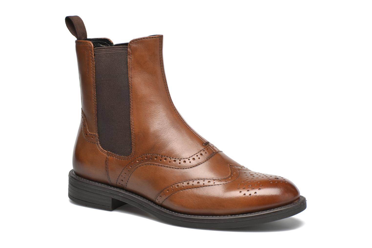 Ankle boots Vagabond Shoemakers AMINA 4203-001 Brown detailed view/ Pair view