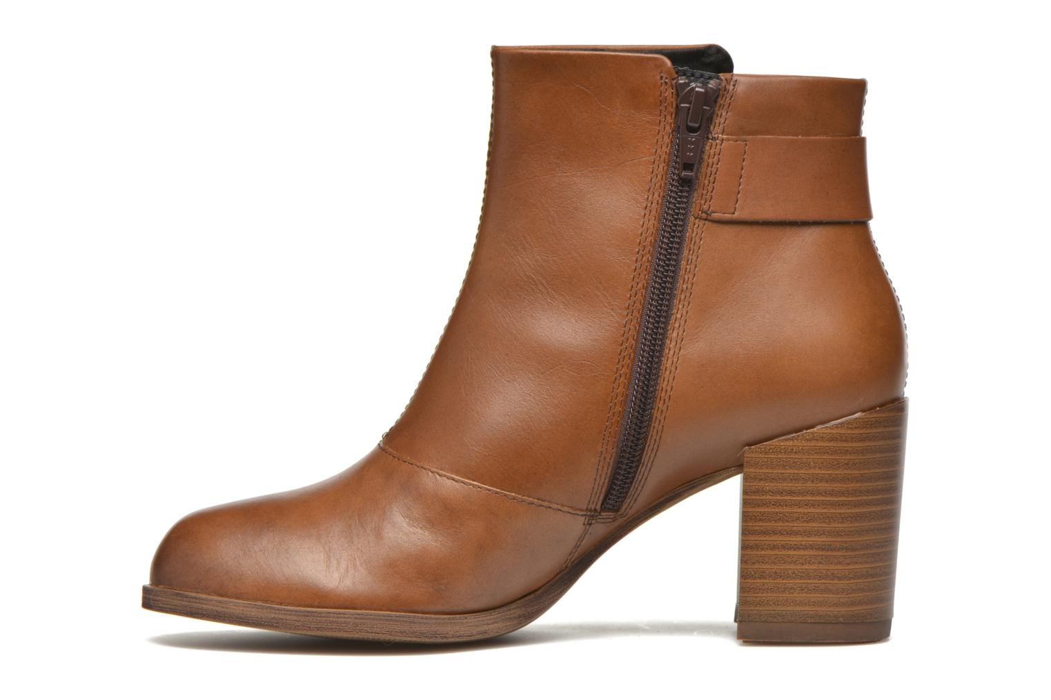 Ankle boots Vagabond ANNA 4221-101 Brown front view