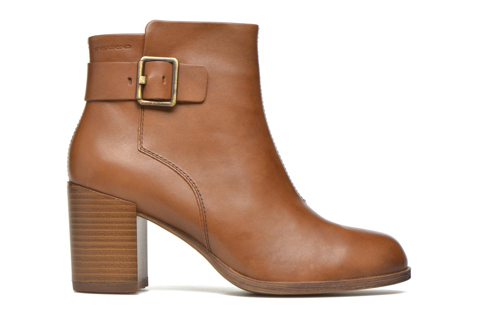 Ankle boots Vagabond ANNA 4221-101 Brown back view