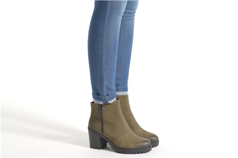 Bottines et boots Vagabond Shoemakers GRACE 4228-350 Bordeaux vue bas / vue portée sac