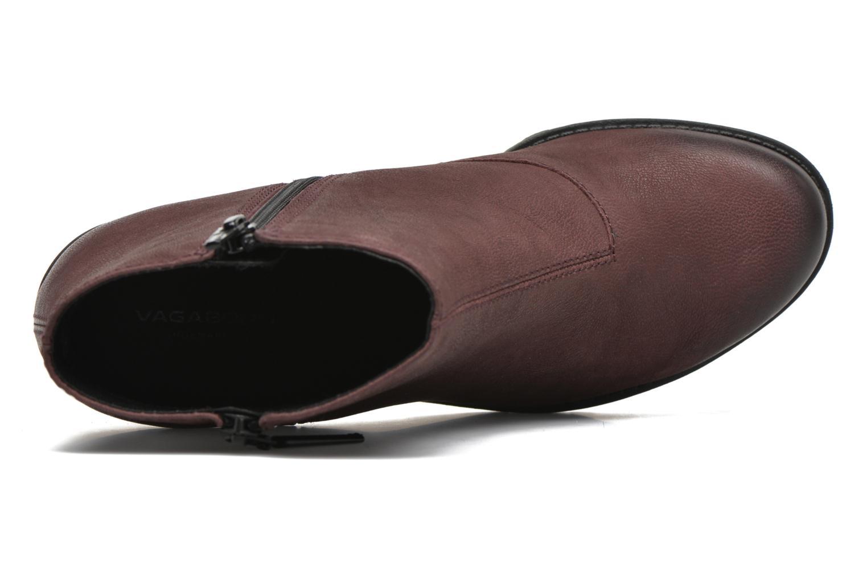Bottines et boots Vagabond Shoemakers GRACE 4228-350 Bordeaux vue gauche