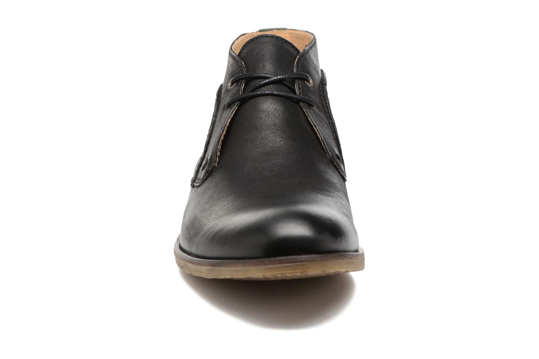 Chaussures à lacets Kickers Flaval Noir vue portées chaussures