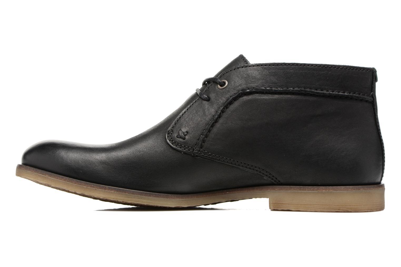 Chaussures à lacets Kickers Flaval Noir vue face