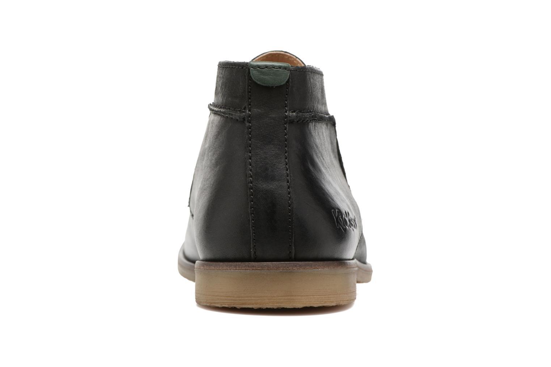 Chaussures à lacets Kickers Flaval Noir vue droite