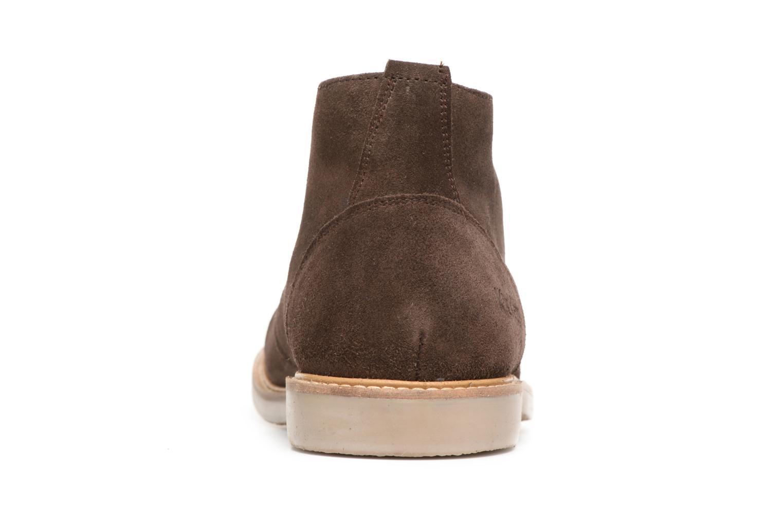 Bottines et boots Kickers Tyl Marron vue droite