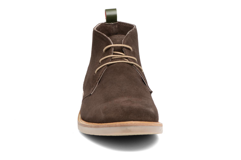 Bottines et boots Kickers Tyl Marron vue portées chaussures