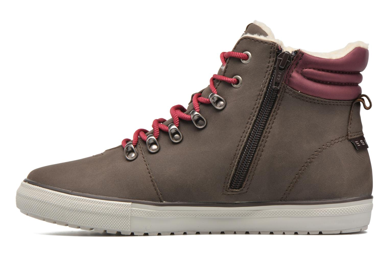 Trainers Esprit Mika Bootie Brown front view
