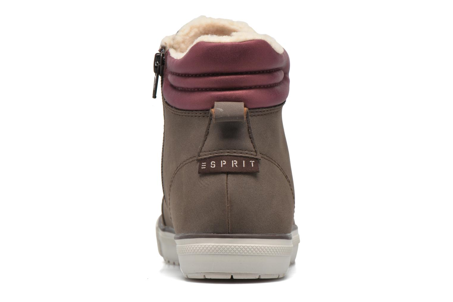 Trainers Esprit Mika Bootie Brown view from the right