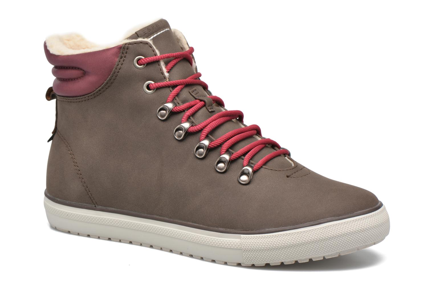 Trainers Esprit Mika Bootie Brown detailed view/ Pair view