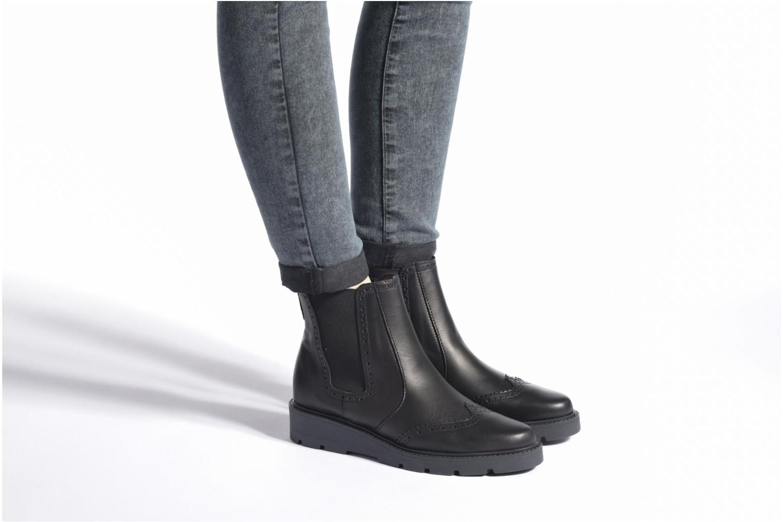 Bottines et boots Esprit Josette Bootie Noir vue bas / vue portée sac