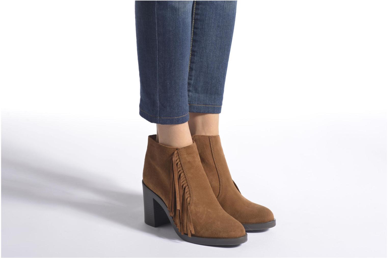 Stiefeletten & Boots Esprit Shane Fringes braun ansicht von unten / tasche getragen