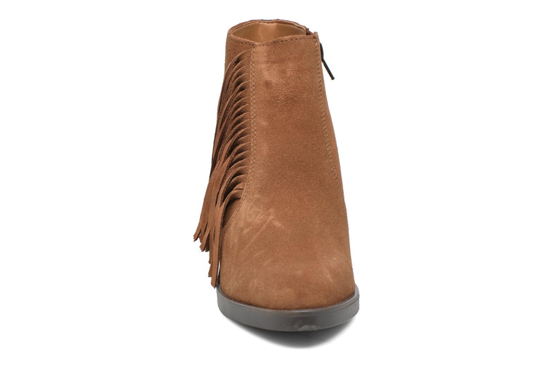 Stiefeletten & Boots Esprit Shane Fringes braun schuhe getragen