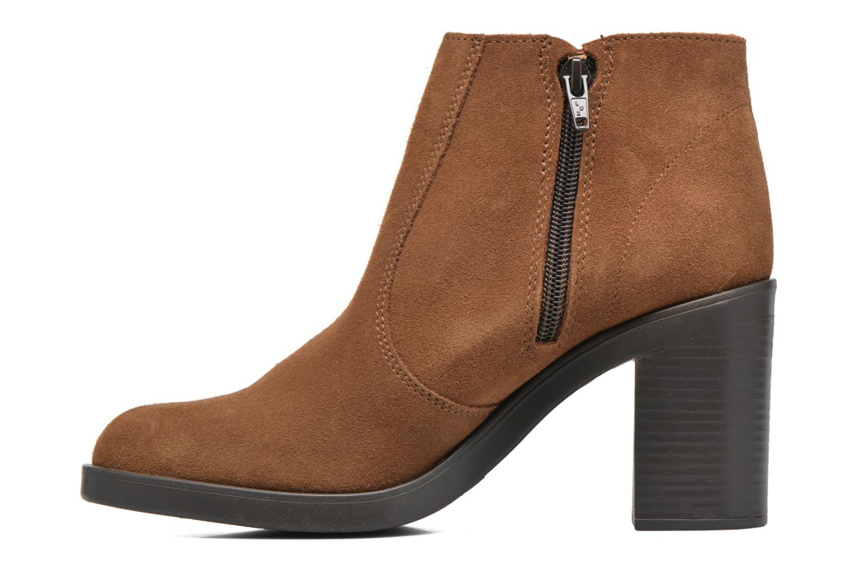 Stiefeletten & Boots Esprit Shane Fringes braun ansicht von vorne