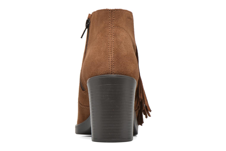 Stiefeletten & Boots Esprit Shane Fringes braun ansicht von rechts