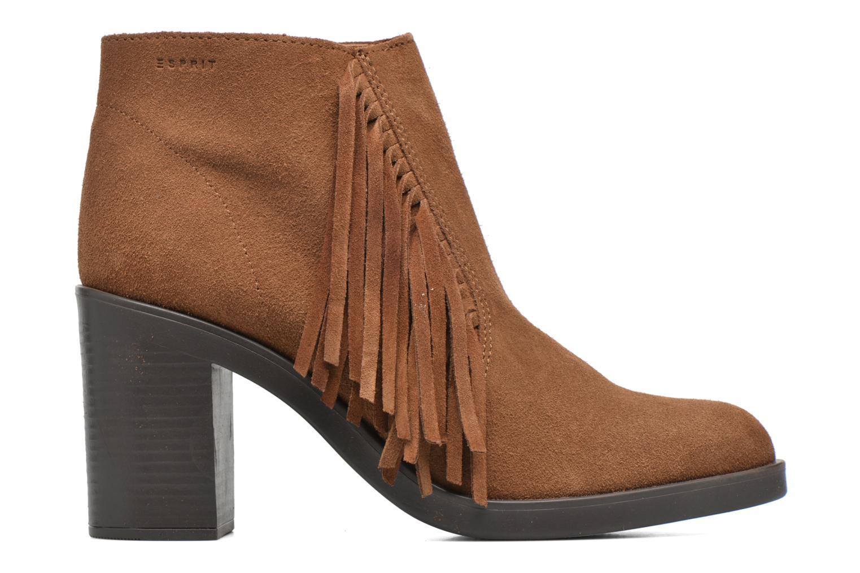 Stiefeletten & Boots Esprit Shane Fringes braun ansicht von hinten