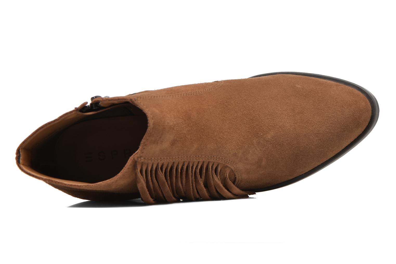 Stiefeletten & Boots Esprit Shane Fringes braun ansicht von links