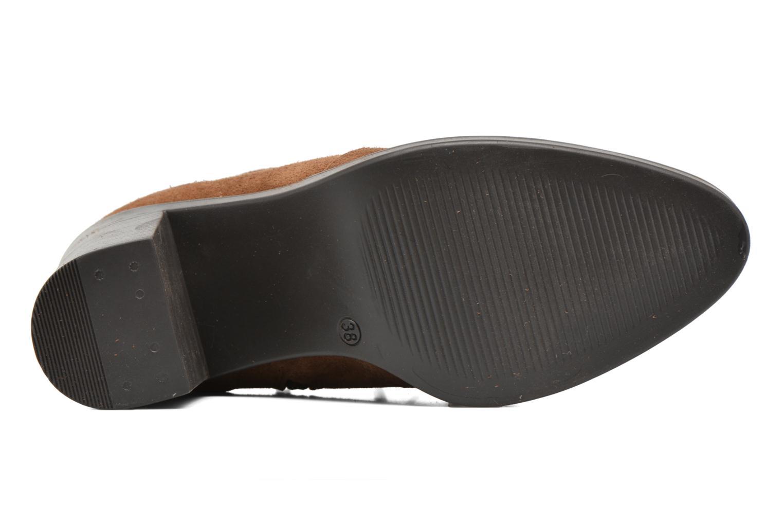 Stiefeletten & Boots Esprit Shane Fringes braun ansicht von oben