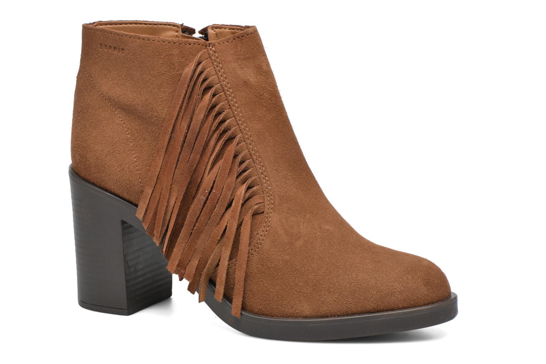 Stiefeletten & Boots Esprit Shane Fringes braun detaillierte ansicht/modell