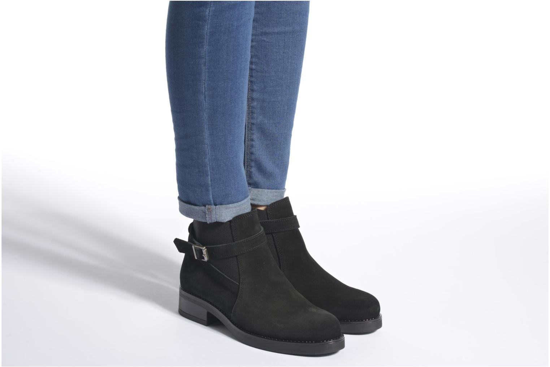 Bottines et boots Esprit Saira Bootie Noir vue bas / vue portée sac