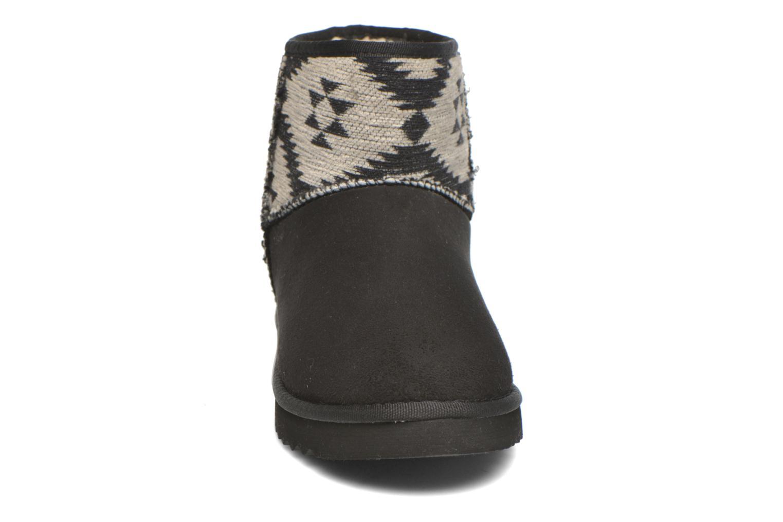 Bottines et boots Esprit Uma Ethno Noir vue portées chaussures