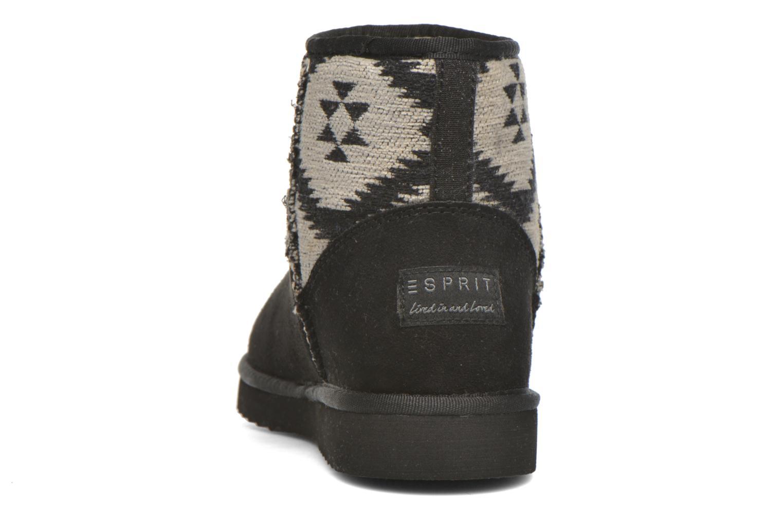 Bottines et boots Esprit Uma Ethno Noir vue droite
