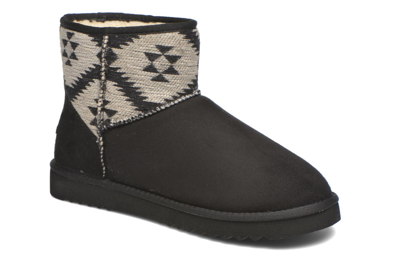 Bottines et boots Esprit Uma Ethno Noir vue détail/paire
