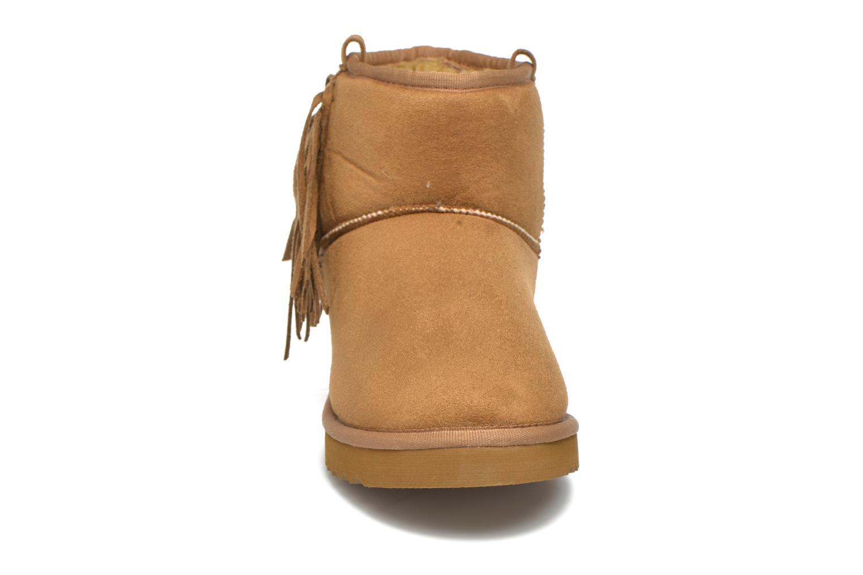 Bottines et boots Esprit Uma Fringes Marron vue portées chaussures