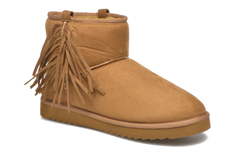Bottines et boots Esprit Uma Fringes Marron vue détail/paire
