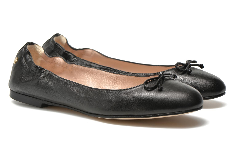 Ballet pumps L.K. Bennett Thea Black 3/4 view