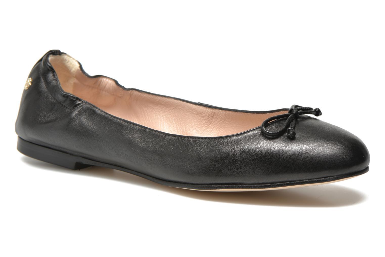 Ballet pumps L.K. Bennett Thea Black detailed view/ Pair view