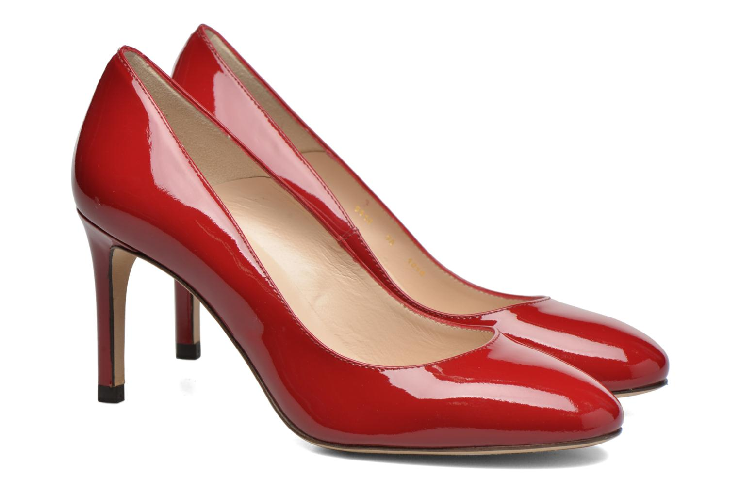 High heels L.K. Bennett Sasha Red 3/4 view