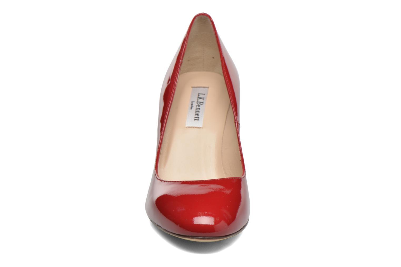Escarpins L.K. Bennett Sasha Rouge vue portées chaussures