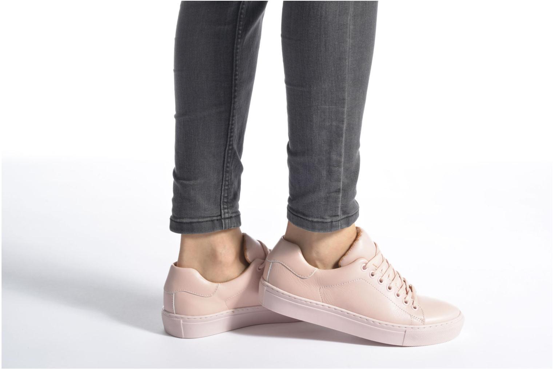 Sneaker Made by SARENZA Sugar Shoegar #8 rosa ansicht von unten / tasche getragen