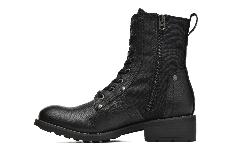 Stiefeletten & Boots G-Star Labour boot W schwarz ansicht von vorne