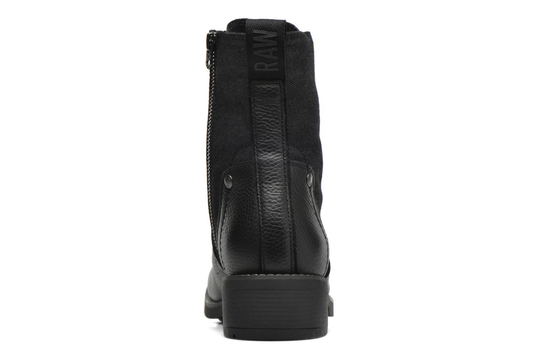 Bottines et boots G-Star Labour boot W Noir vue droite