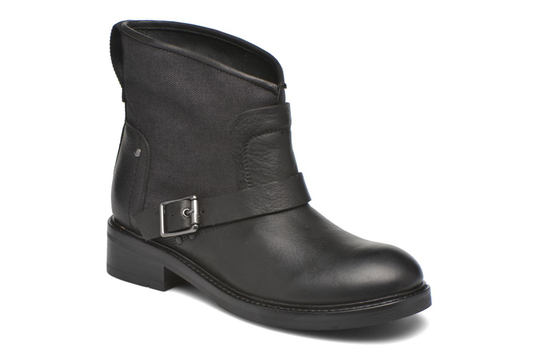 Marques Chaussure femme G-Star femme Ranker flat boot W Black