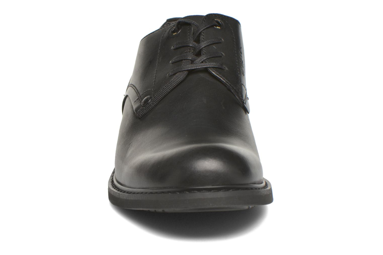Schnürschuhe G-Star Dock schwarz schuhe getragen