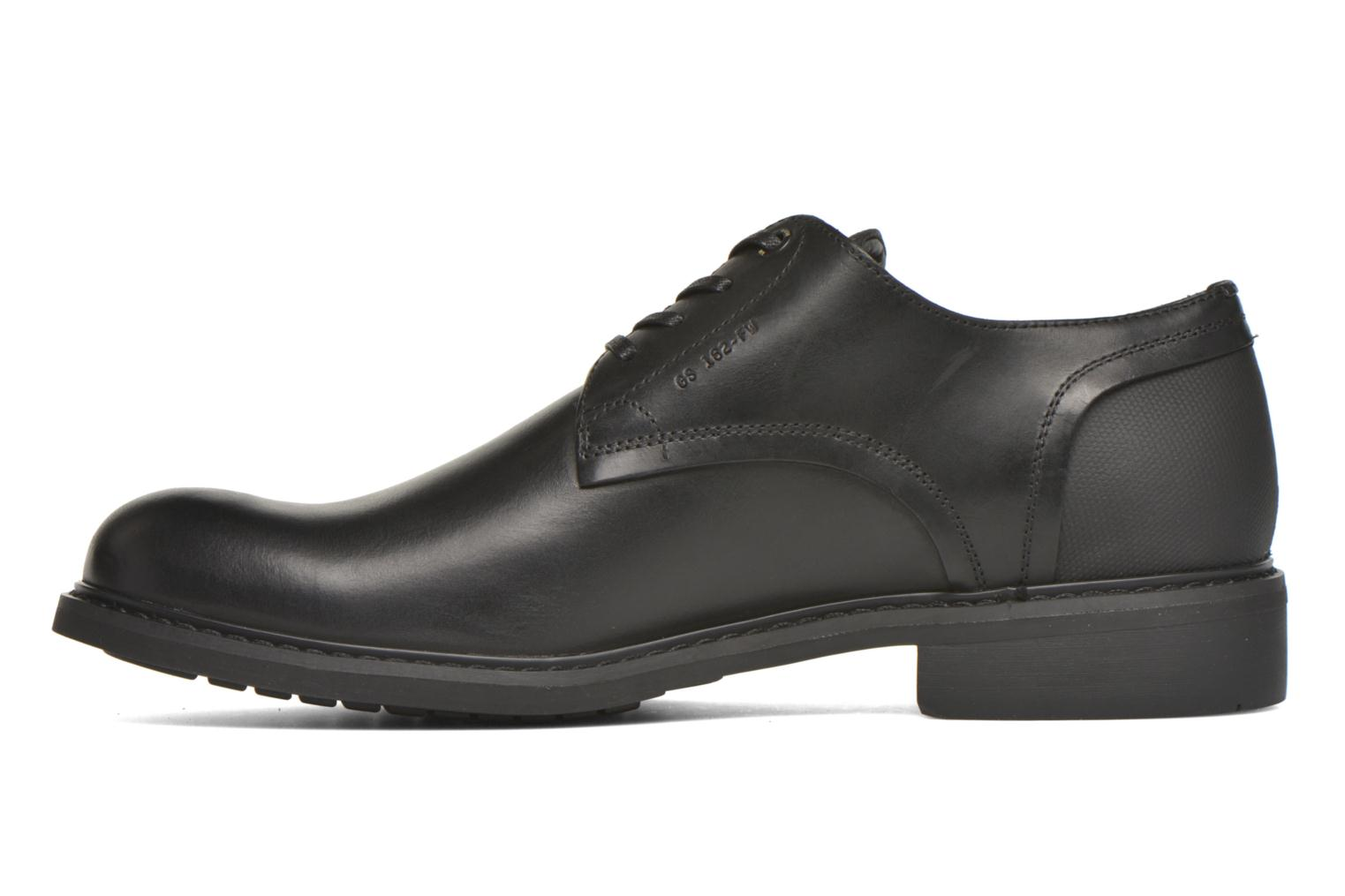 Lace-up shoes G-Star Dock Black front view