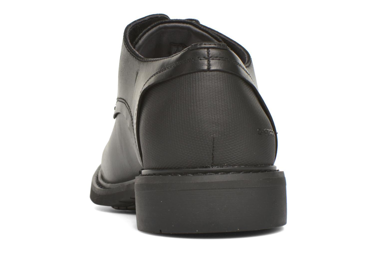 Chaussures à lacets G-Star Dock Noir vue droite