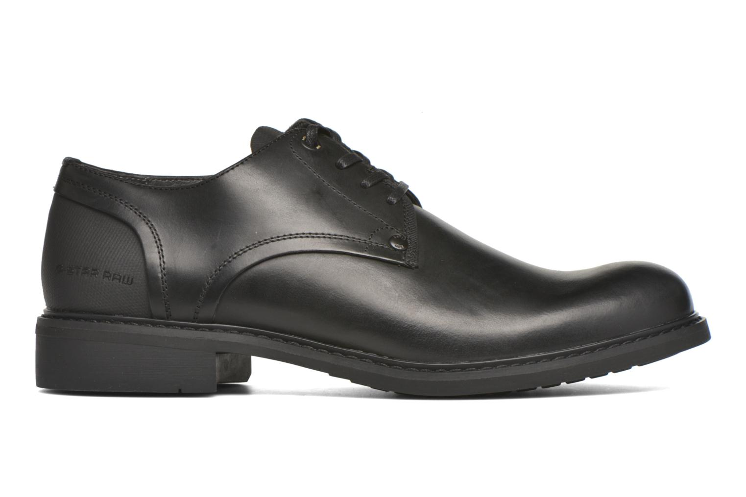 Lace-up shoes G-Star Dock Black back view