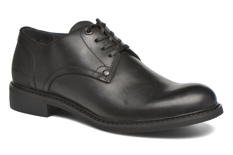 Chaussures à lacets G-Star Dock Noir vue détail/paire