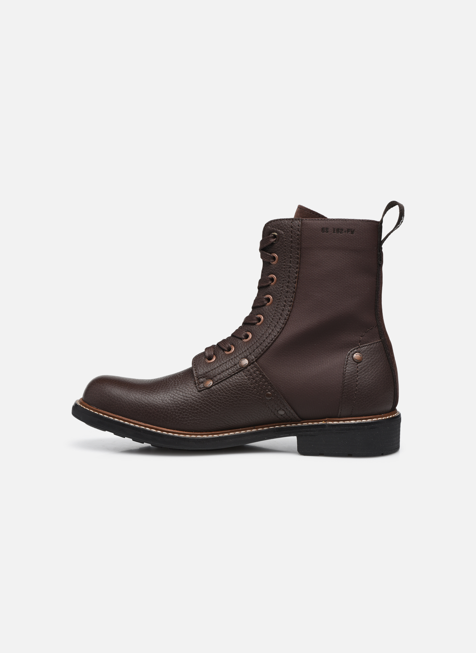 Bottines et boots G-Star Labour Marron vue face