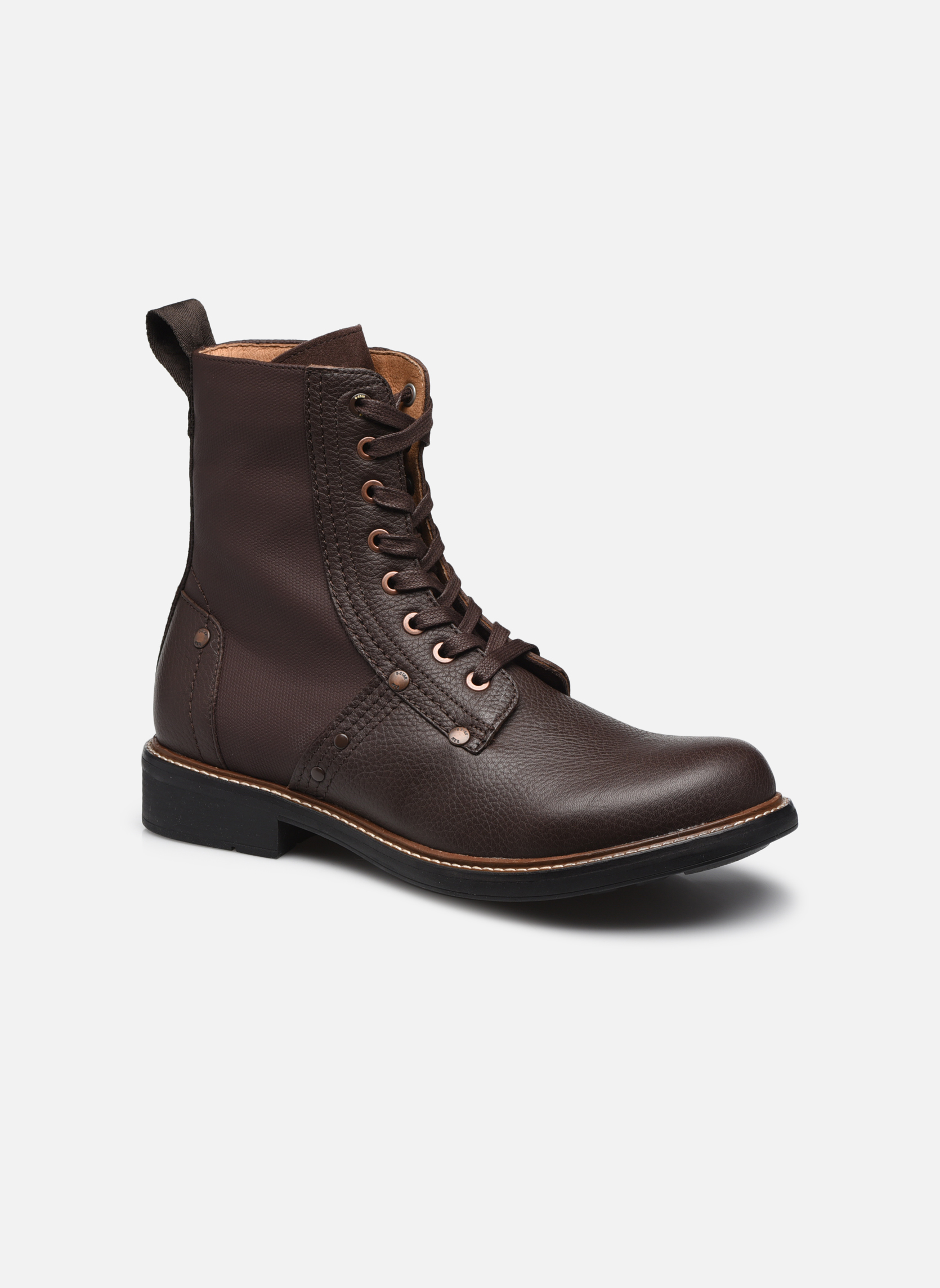 Bottines et boots G-Star Labour Marron vue détail/paire